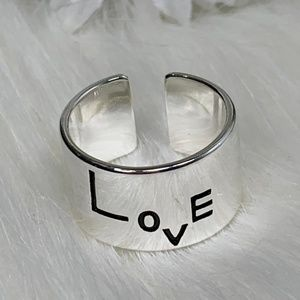 New Lovely Sterling Silver Ring Christmas Giveaway